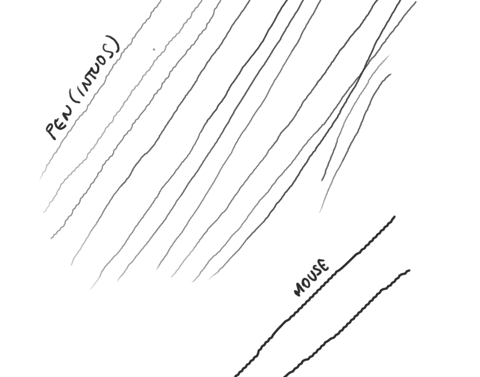 Jagged / WOBBLY lines (SOLVED) - Wacom Intuos 4 and how mouse and