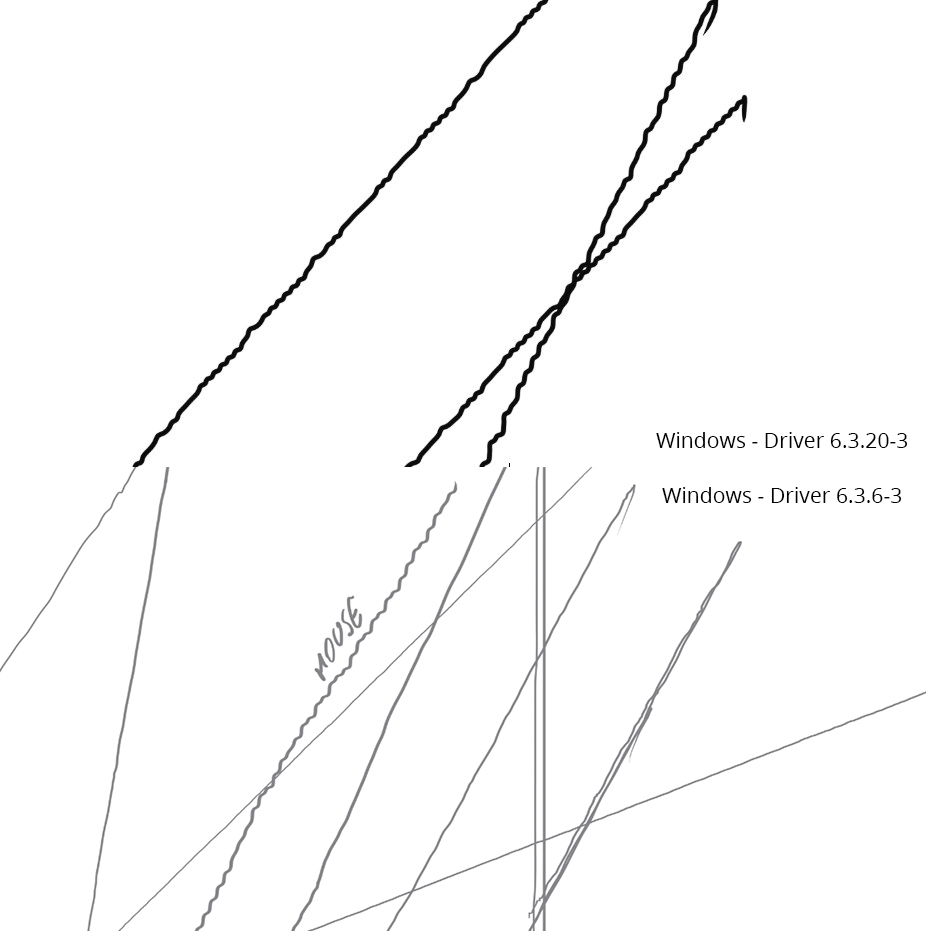 Drawing Lines With Tablet : Jagged wobbly lines solved wacom intuos and how mouse