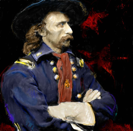 The Graber Blog: George Custer's Defeat at the Little Bighorn