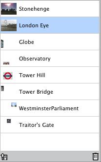 Image List UI