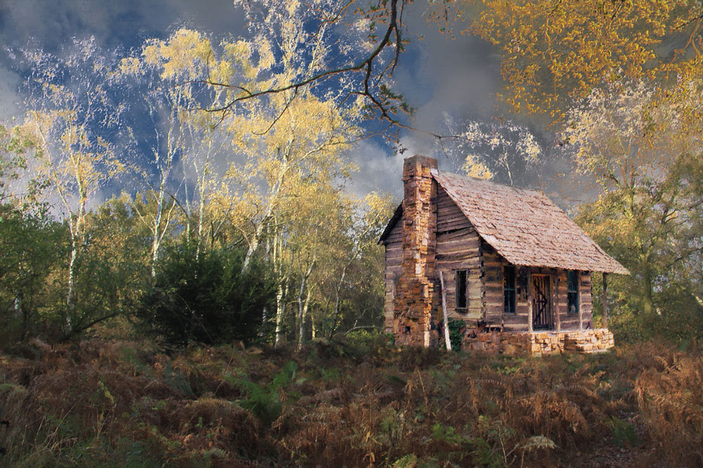Paintings Of Cabins Best Painting 2018