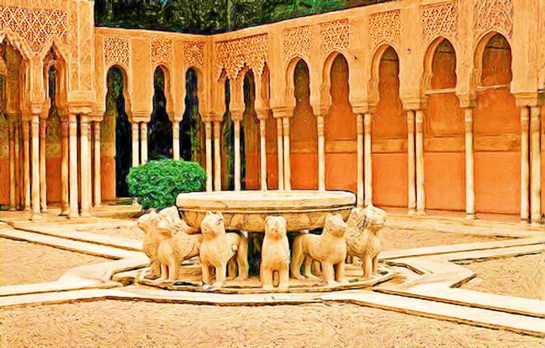 Alhambra - The Court of the Lions - El Patio de los Leones - Show Your Essent...