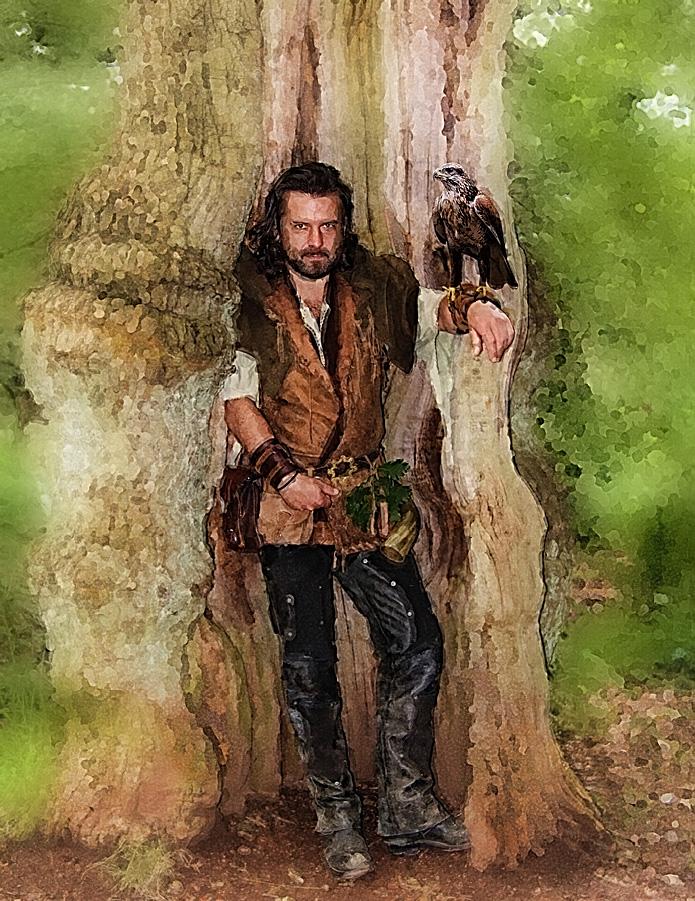 Sherwood Forest Melton Cire Chapeau de trappeur
