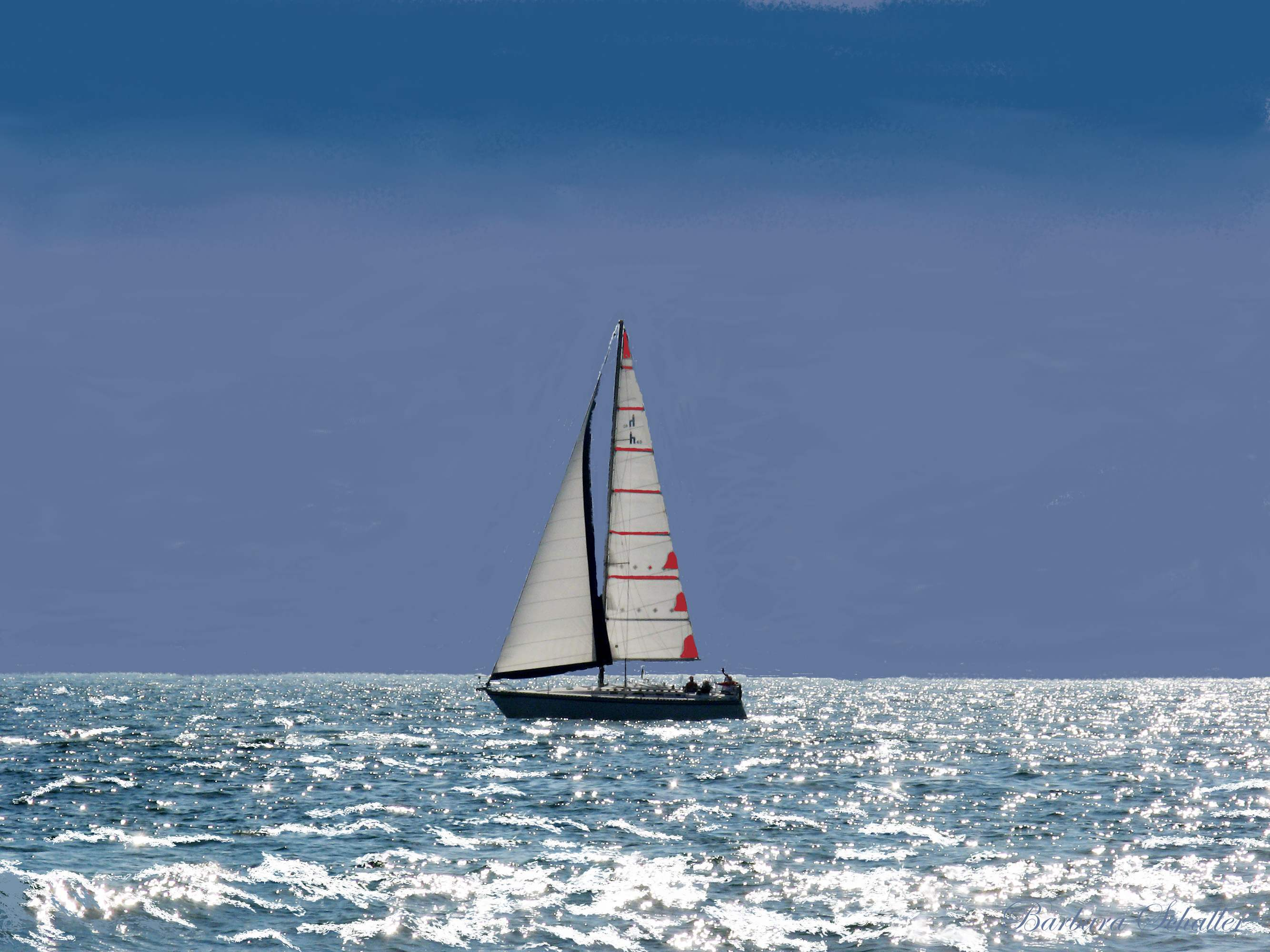 Image result for sailboat ocean