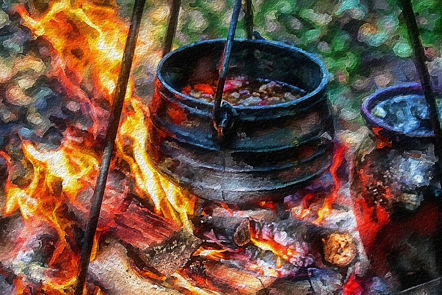 How To Make Medieval Pottage, Recipe Ingredients