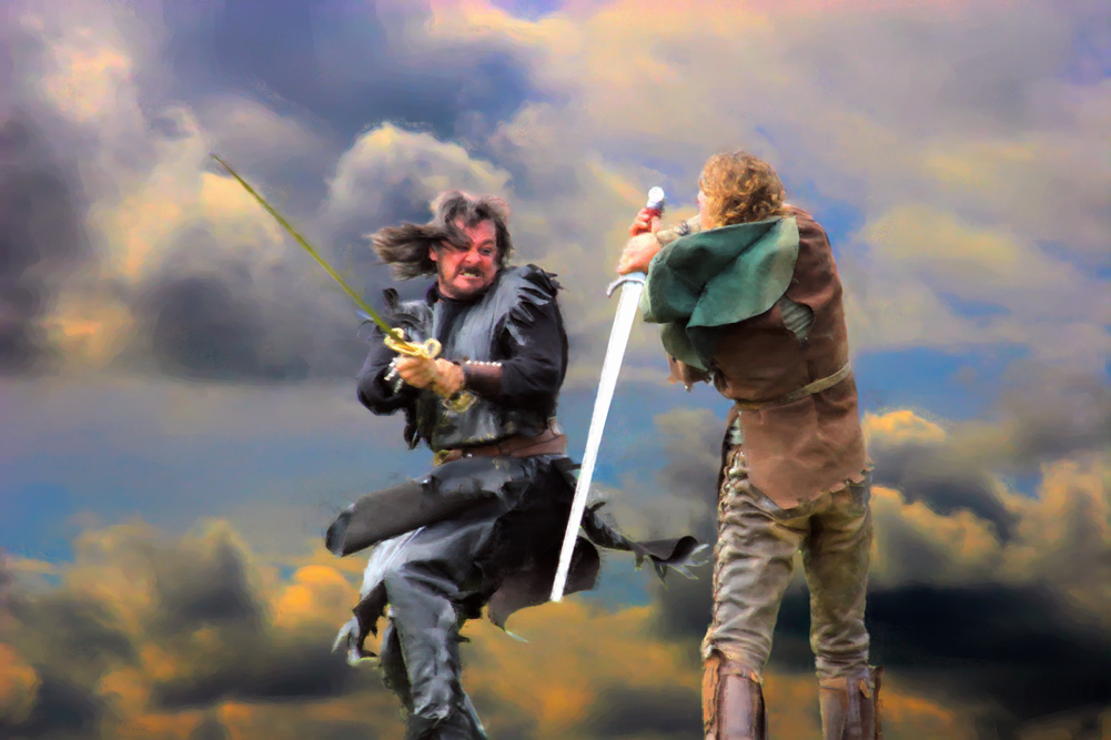 sword fighting - Show Your Essentials Creations - Essentials